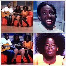 Still from 'The Noite com Danilo Gentili' late night talk show on SBT TV. Skit also featured Gentili's black assistant Juliana