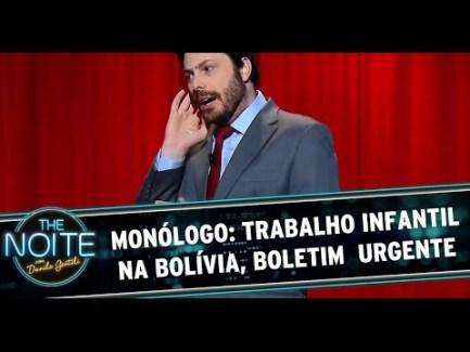 Comedian/talk show host Danilo Gentili