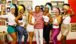 Bira Presidente with his beauties