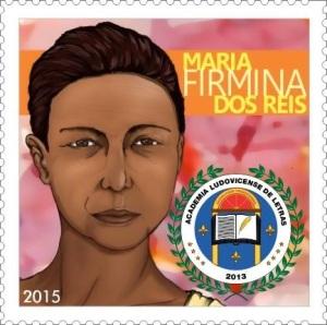 Maria Firmina dos Reis commemorative stamp