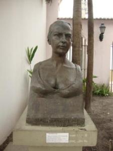 Maria Firmina dos Reis sculpture