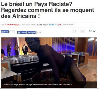 A Senegalese website asks: