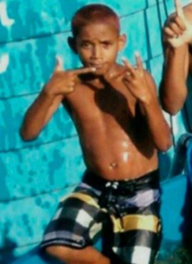 11-year old Herinaldo Vinícius da Santana was gunned down in confrontation between Military Police and drug traffickers