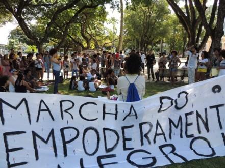 5 - Encontrou segue em caminhada até o Marco Zero, no Bairro do Recife