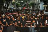 'Third March Against the Genocide of Black People' - Salvador, Bahia. Monday, August 24, 2015 - Photo: Akin Foco