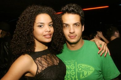 Lucy with actor and husbandThiago Luciano