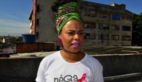 Rio de Janeiro - Erica Portillo, project coordinator Nêga Rosa, which serves women in communities of Rio de Janeiro (Tomaz Silva/Agência Brasil)