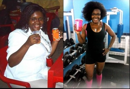 Josélia's weight problem led her to weight training