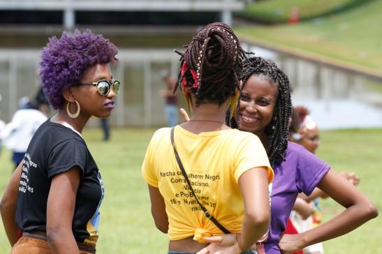 5 - Marcha das Mulheres Negras, na Esplanada dos Ministérios, em Brasília