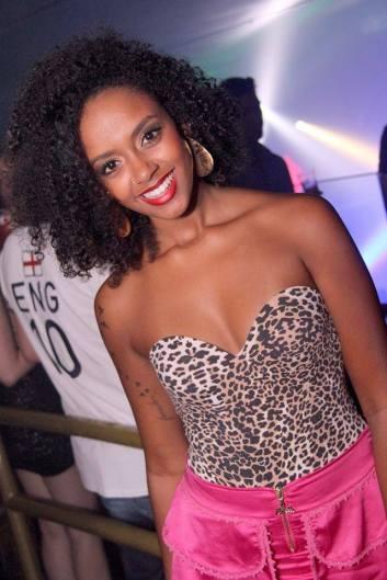 Haeixa Pinheiro, only black candidate for Rainha da Festa das Flores of Joinville - 2015