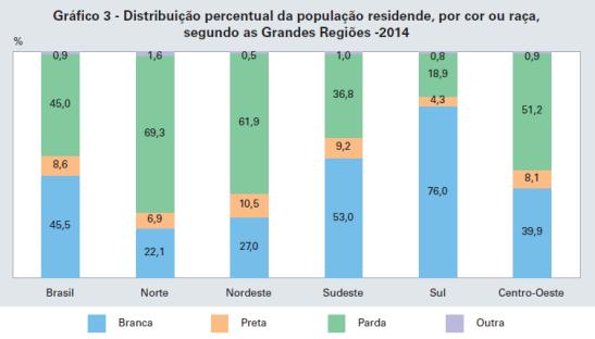 Pesquisa do IBGE revela pretos e pardos têm novo aumento proporcional