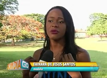 After winning  beauty contest, 19-year old Tainara de Jesus Santos was victim of racist commentary