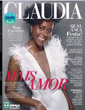 Maria Júlia Coutinho a revista sobre racismo - 'Minha militância é o trabalho'