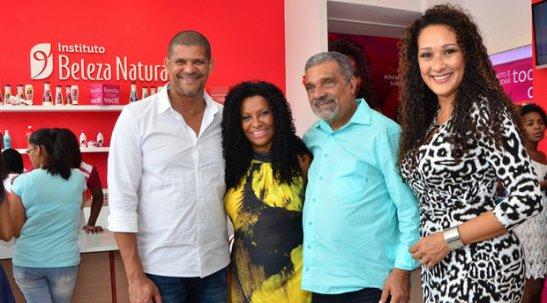 Rogério Assis, Zica Assis, Jair Conde e Leila Velez
