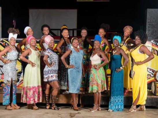 15 finalistas do Concurso Deusa do Ébano, em 2016