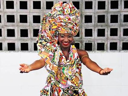 Larissa Oliveira, 22, elected Ebony Goddess of Ebony (Photo: M. Araujo Fafá)