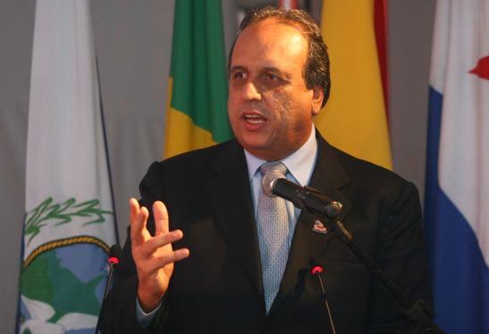 Luiz Fernando Pezão, governor of Rio e Janeiro