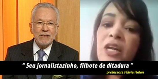 RACISMO NA GLOBO REVOLTA ALUNOS E PROFESSORES 2