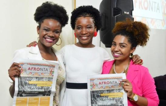 lançamento do Jornal Afronta