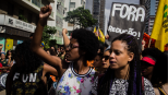Women at the Day of Black Consciousness march on November 20th, 2015