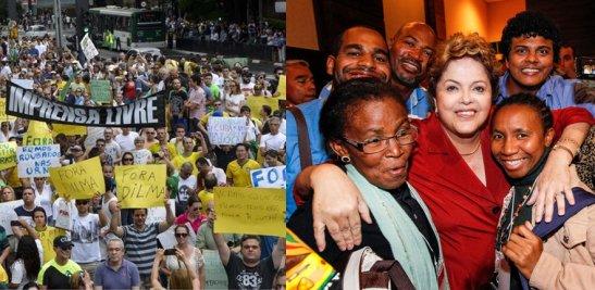 Dilma - impeachment - negros