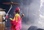 Karol Conka performed at Lollapalooza, which took place on March 13th