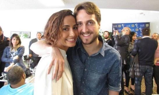 Camila Pitanga e seu namorado Igor Angelkorte