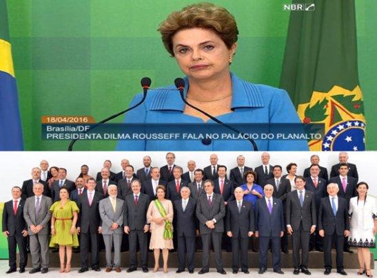 Dilma critica ausência de mulheres e negros no ministério de Temer (capa) final