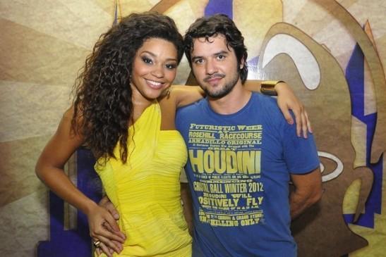 Juliana Alves com o namorado, Guilherme Duarte