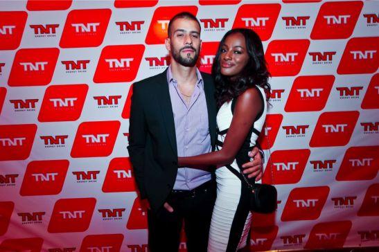 Patrícia Dejesus e o namorado, o modelo Fábio Luiz