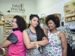 Dany Borges, Priscila Gama and Meyrieli Carvalho are part of the institute Das Pretas, that organized a summer camp for black children