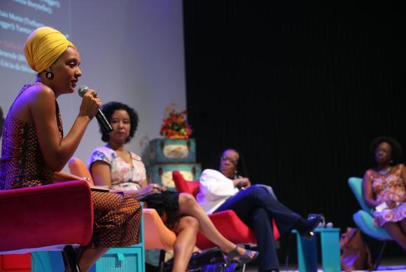 Mulheres discutem o papel das mídias negras no Festival Latinidades (2)