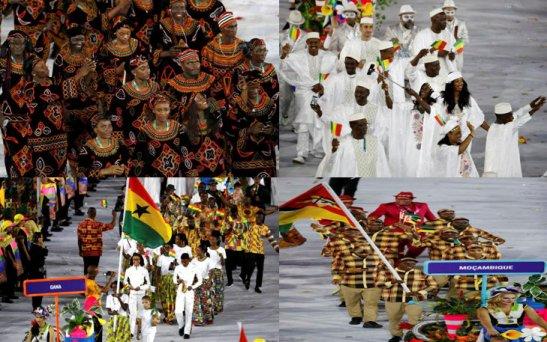 Camaroon, Ghana, Mali, Mozambique