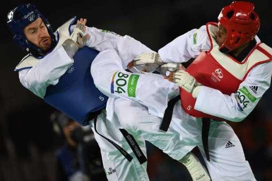 Maicon Siqueira, no taekwondo. conquista uma medalha para o Brasil (2)