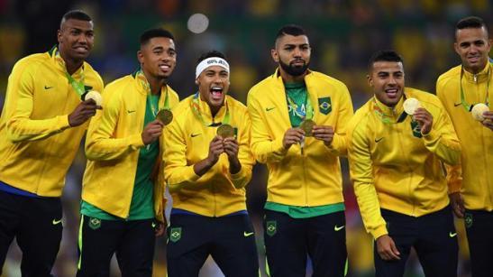 Seleção Brasileira Masculina de Futebol vence a Alemanha nos pênaltis e leva o primeiro ouro olímpico