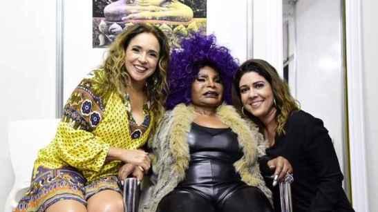 Daniela, Elza Soares e Malu Verçosa