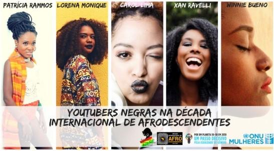ONU Mulheres lança ação digital com youtubers negras para combater o racismo