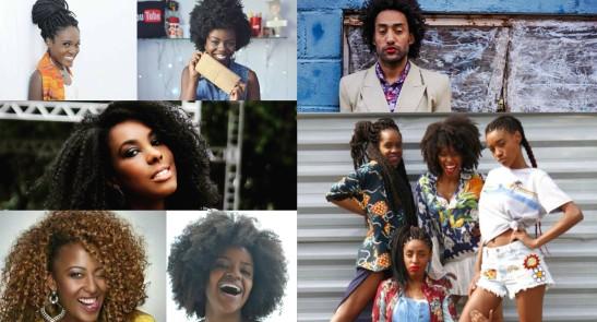 Youtubers e blogueiros negros