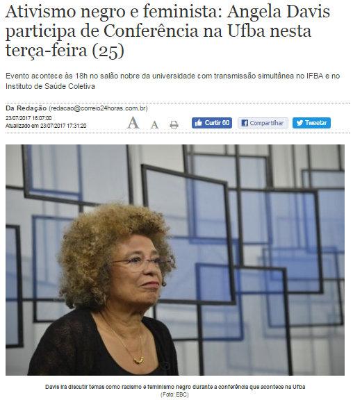 Angela Davis UFBA