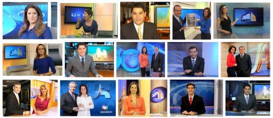 apresentadores de jornal de TV