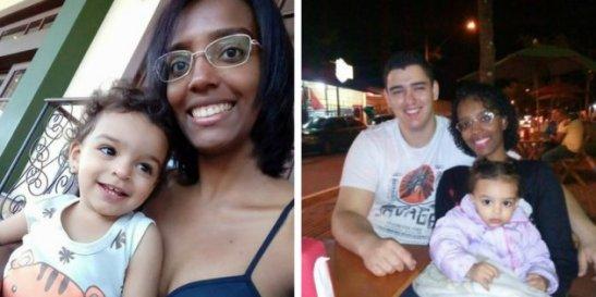 Jamille Edaes é negra e foi acusada de sequestrar a propria filha