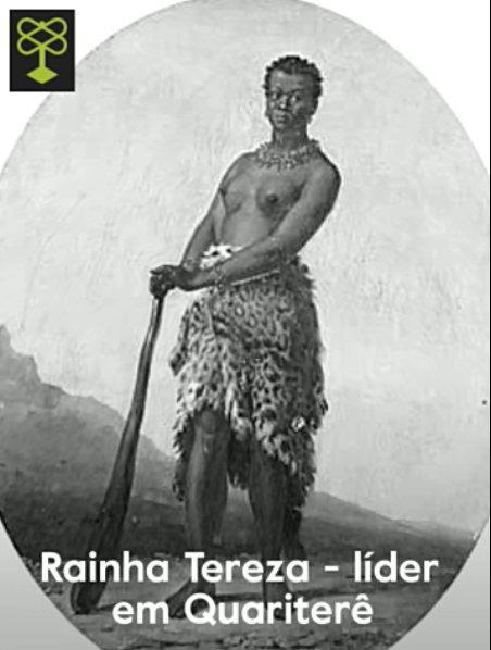 Rainha (Queen) Tereza - leader in Quaritere