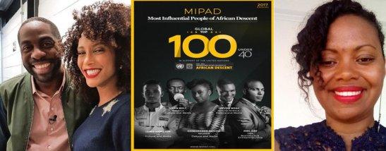 Lázaro, Taís, Adriana - brasileiros estão entre 100 negros mais influentes.2
