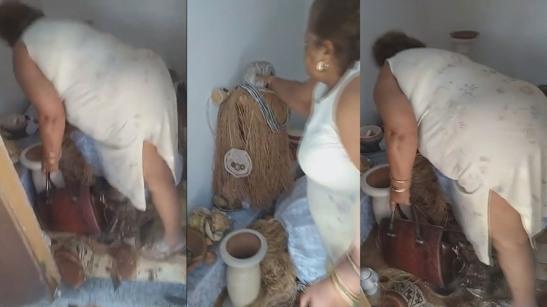 Traficantes 'evangélicos' forçam mãe de santo a destruir terreiro no Rio 2
