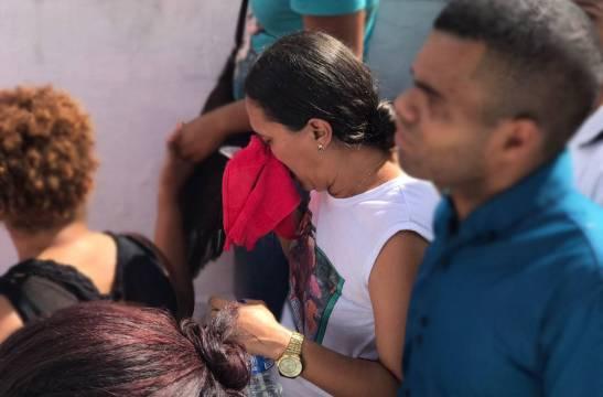 Eliene dos Santos, esposa do líder Quilombola Flavio Gabriel Pacifico dos Santos expressa perda