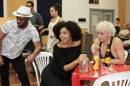 Geilson Santos, Marly Montoni e Lucas Medeiros
