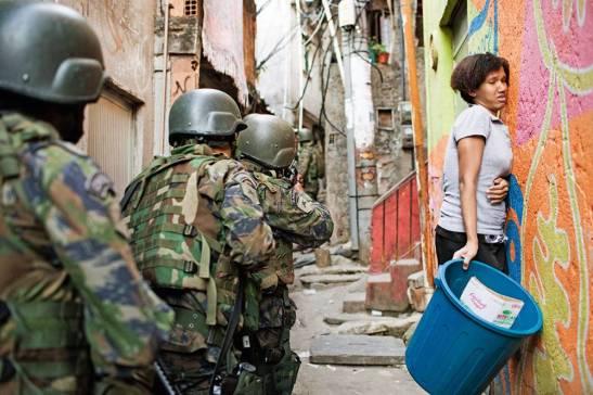operation in Rocinha