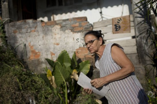 Maria de Pena Souza, de 59 anos,
