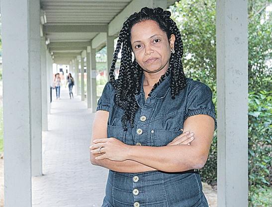 Patrícia Rufino Andrade, coordenadora do Núcleo de Estudos Afro-Brasileiros da Ufes