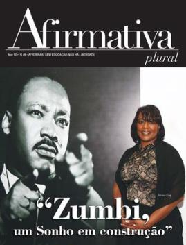 Cover of Afirmativa featuring MLK and daughter Bernice
